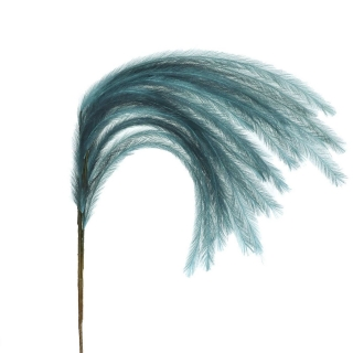 Faux Feather Plume, Teal