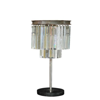 Timothy Oulton Odeon Table Lamp, Natural