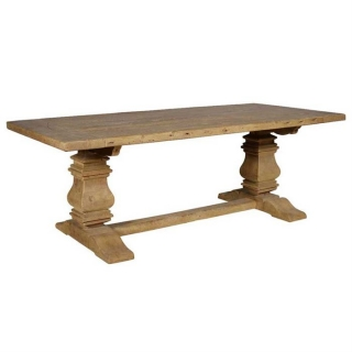 Timothy Oulton Georgian Architectural Large Dining Table