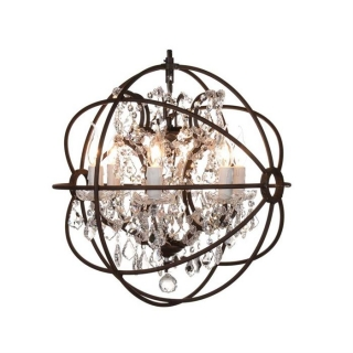Timothy Oulton Gyro Small Chandelier, Antique Rust