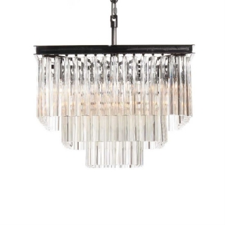 Timothy Oulton Paradise 3 Ring Chandelier, Natural