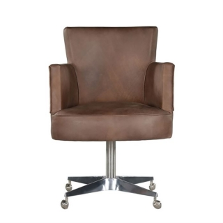 Timothy Oulton Swinderby Office chair, Destroyed Raw