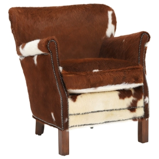 Timothy Oulton Professor Chair, Moo Brown and White