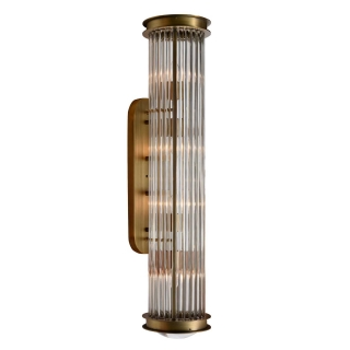 Timothy Oulton Newton Small Wall Sconce, Plated Bronze