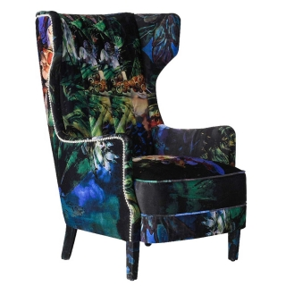 Timothy Oulton Manor Chair, Acid Jungle