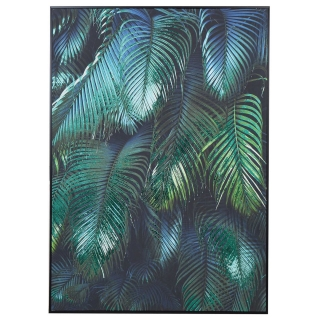Tropical Leaves Picture, Green