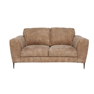 New Troy Leather Loveseat