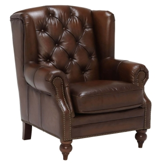 Ullswater Leather Wing Chair