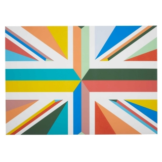 75th Anniversary Union Jack Canvas, Limited Edition