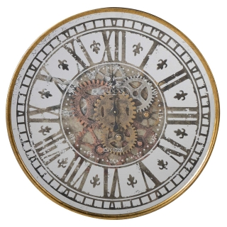 Vintage Cogs Wall Clock