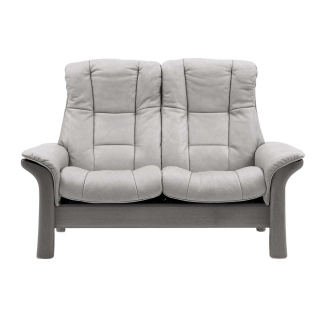 Stressless Windsor High Back 2 Seater, Choice of Leather