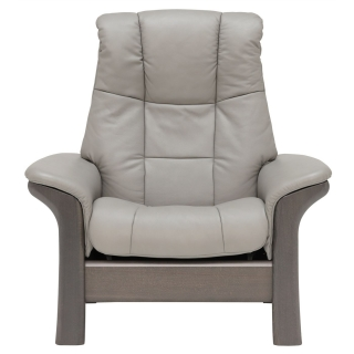 Stressless Windsor High Back Chair, Choice of Leather