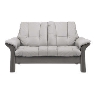 Stressless Windsor Low Back 2 Seater, Choice of Leather