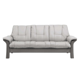 Stressless Windsor Low Back 3 Seater, Choice of Leather