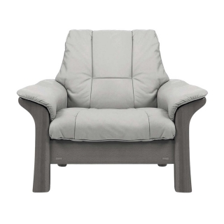 Stressless Windsor Low Back Chair, Choice of Leather