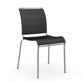 Benbow Stackable Net Fabric Dining Chair