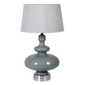 Blue Shaped Table Lamp