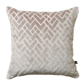 Fracture Cushion, Grey