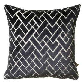 Fracture Cushion, Navy