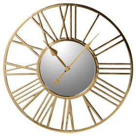 Numeral Wall Clock, Gold
