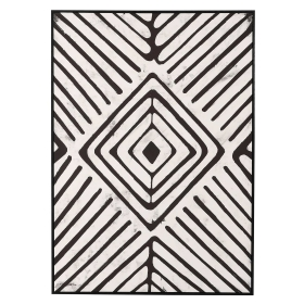 Mirror Image Canvas, Black and White