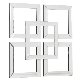 Mirrored Squares Wall Art
