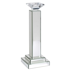 Mirrored Square Candle Stick