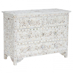 Clipper Chest Of Drawers, Mother Of Pearl