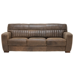 New Missano 3 Seater Leather Sofa