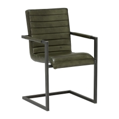 Brutus Leather Dining Chair