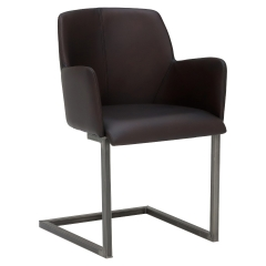 Channing Leather Dining Chair