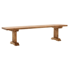 Covington Reclaimed Wood Dining Bench