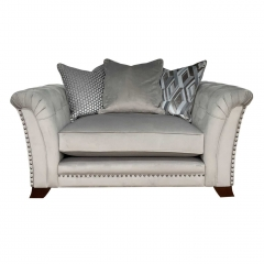 Dorsey Pillow Back Snuggle Chair
