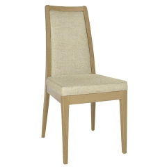 Ercol Romana Padded Back Fabric Dining Chair