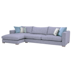 Fontella Large Left Hand Facing Chaise, Tabby Pool