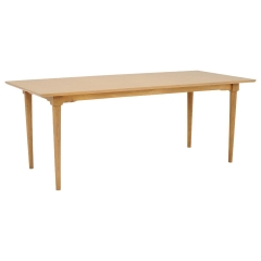 Hague 200cm Dining Table, Natural