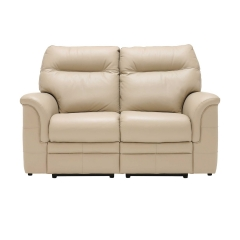 Parker Knoll Hudson 2 Seater Recliner Sofa, Leather