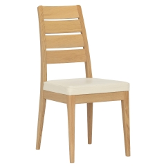 Ercol Romana Leather Dining Chair