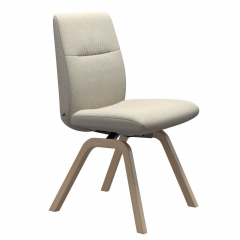 Stressless Mint Low Back Dining Chair With D200 Legs, Quickship