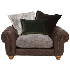 Melville Pillow Back Snuggle Chair