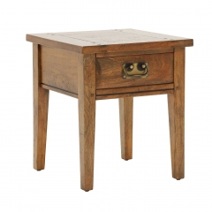 New Frontier Mango Wood Lamp Table