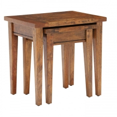 New Frontier Mango Wood Nest of Tables