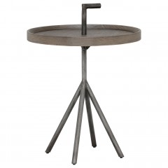Pamber 45cm Round Side Table