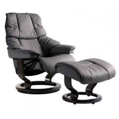 Stressless Reno Classic Chair & Stool, Choice of Leather