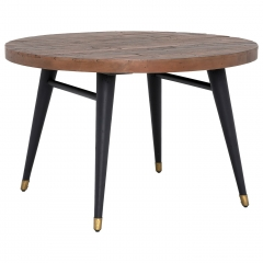 Modi Reclaimed Wood Round Dining Table
