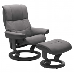 Stressless Mayfair Classic Chair & Stool, Choice of Leather