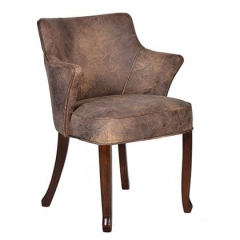 Timothy Oulton Lannister Leather Dining chair