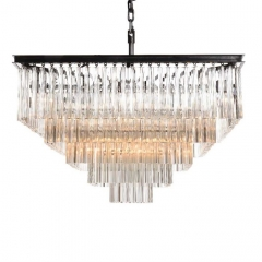 Timothy Oulton Paradise 5 Ring Chandelier, Natural