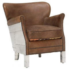 Timothy Oulton Professor Chair, Destroyed Raw and Spitfire