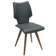 Tulip Dining Chair, Apollo Leather